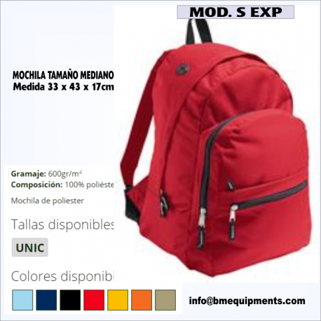 MOCHILA S EXP
