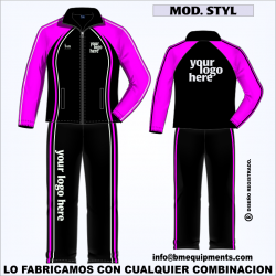 CHANDAL STAYL NEGRO FUCSIA BLANCO