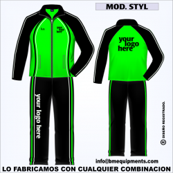 CHANDAL STAYL VERDE NEGRO BLANCO
