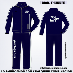 CHANDAL THUNDER MARINO BLANCO