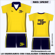 CAMISETA MC SPRINT AMARILLO MARINO