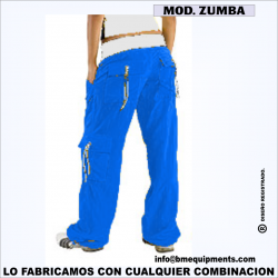 PANTALON ZUMBA ROYAL
