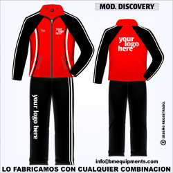 CHANDAL DISCOVERY ROJO NEGRO BLANCO