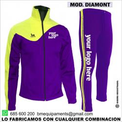 CHANDAL DIAMONT  MORADO - AMARILLO FLUOR
