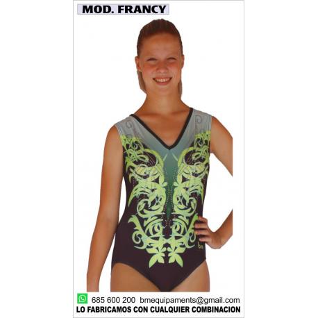 MAILLOT FRANCY VERDE