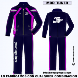 CHANDAL TUNER MARINO FUCSIA BLANCO