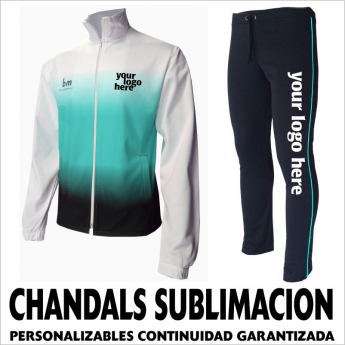 CHANDALS DE SUBLIMACION